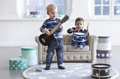 Black Wooden Children's Guitar