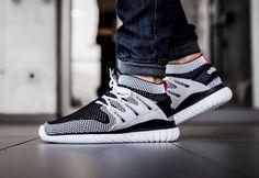 Basket Adidas Tubular Runner Nova Primeknit Vintage White Core Black pas cher…