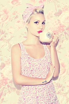 Model: Angie Von Kruger (Ana Perduv) |  Photographer: Filip Dizdar | #Vintage #Pinup #Rockabilly