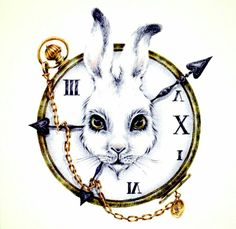 alice, alice in wonderland, clock, i, white rabbit Alice In Wonderland Party, Adventures In Wonderland, Alice In Wonderland Artwork, White Rabbit Alice In Wonderland, Alice In Wonderland Characters, Disney Tattoos, Mr Chat, Tattoos Familie, Chesire Cat