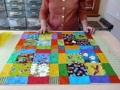 """How to have Fun with Novelty 5"""" squares - Quilting Tips & Techniques 062"""