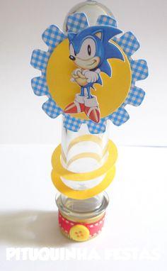 Tubos de Ensaio Sonic Personalizado com personagens e aros de ouro Papéis 180gr Podemos fazer em diversas cores e estampas Não acompanha balas ***PEDIDO MINIMO 20 UNIDADES