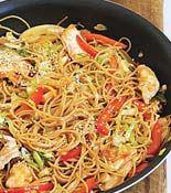 Korean Style Chicken Noodle Bowls