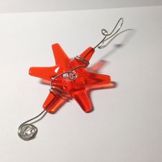 Orange Star / Tangerine Star / LGBT Wedding / Mini by cyvonneh