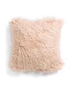 Fur Pillow, Throw Pillows, Plush Pillow, Japanese Bedroom, Marshalls, Tj Maxx, Faux Fur, Holiday Decor, Cover