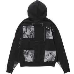 C.E - 17SS - BLOCK PRINT HEAVY HOODY [backside]