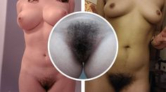 40 hot girls with very hairy pussy!