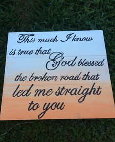 Ombre Song Lyrics Decor on Etsy, $30.00 ❤️ this!!