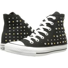 c56faab8255d3 Converse Chuck Taylor All Star Canvas Studs Hi Women s Lace up casual Shoes
