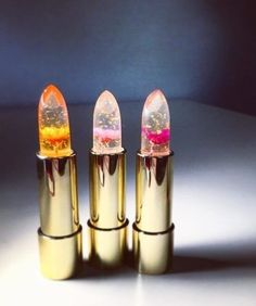 Yeah we still aren't over how gorgeous these clear jelly lipsticks are. We love the wash of juicy color they give your lips - the perfect weight for hot summer days (because who wants a heavy layer of lipstick when its triple digits outside).