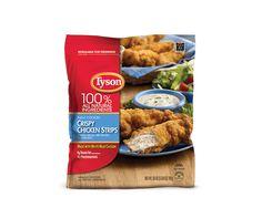Crispy Chicken Strips tyson