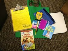 Worship Bags or Busy Bags for your Children's Ministry to create for kids in worship.   #kidmin #worship