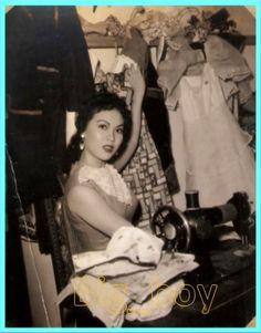 Zeny Zabala Philippines Culture, Manila Philippines, Sampaguita, Philippine Women, Filipino Culture, Red Tattoos, Filipiniana, My Heritage, Women In History