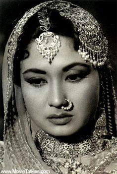 Indian actress of yester-years: Meena-Kumari [1 August1932 - 31 March 1972]