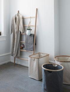 Wäschekorb eckig von HÜBSCH Interior 3