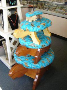 Handmade Turtle Footstools, Turtle Foot Stools, Turtle Stools and Gifts
