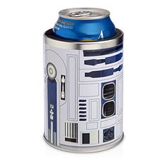 This R2-D2 Can Cooler is the only civilized way to keep your beverages frosty like Hoth on while chilling on the sands of Tatooine.
