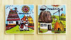 Magnet suvenir- motive traditionale   festART Magnets, Coasters, Coaster