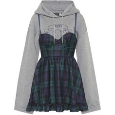 Fenty by Rihanna Wool Minidress (18.905 ARS) ❤ liked on Polyvore featuring dresses, blue, blue wool dress, wool dress, woolen dress, mini dress and wool mini dress