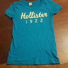 Blue Hollister shirt Hollister shirt Hollister Tops Tees - Short Sleeve
