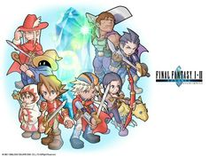 Final Fantasy 1 and 2 dawn of souls