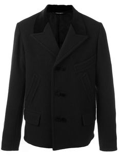 DOLCE & GABBANA Single Breasted Coat. #dolcegabbana #cloth #coat