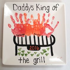 Diy Father's Day Crafts, Summer Camp Crafts, Father's Day Diy, Camping Crafts, Baby Crafts, Holiday Crafts, Crafts To Make, Crafts For Kids, Free Fathers Day Cards