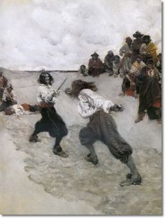 'I Had Met My Equal by Pirates' -- Howard Pyle