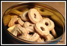 nemme og billige Vanillekranse | Mathiesens Mad