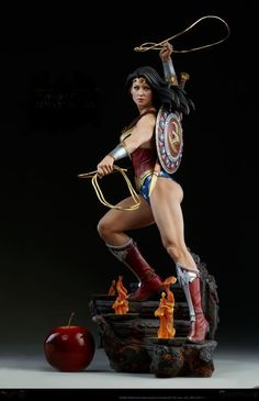 By Athena's Shield! The Wonder Woman Premium Format™ Figure Approaches By Athena's Shield! The Wonder Woman Premium Format™ Figure Approaches Wonder Woman Art, Wonder Woman Comic, Wonder Women, Custom Action Figures, Sideshow Collectibles, Figure Model, Dc Heroes, Gal Gadot, Marvel Dc Comics