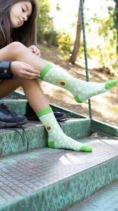 Trendy Fashion, Luxury Fashion, Trendy Style, Food Socks, Green Socks, Special Birthday Gifts, Cute Socks, Kids Socks, Female Feet
