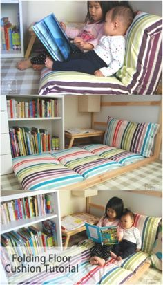 flooring pillows 22 Easy DIY Giant Floor Pillows and Cushions That Are Fun And Relaxing Huge DIY Folding Floor Cushion. Kids Floor Cushions, Giant Floor Pillows, Floor Couch, Kids Pillows, Floor Cushion Couch, Oversized Floor Pillows, Couch Cushions, Diy Couch, Diy Chair