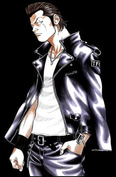 Japanese Gangster, Crows Zero, Manhwa, Manga Art, Anime, Cartoon, Comics, Gangsters, Bikers