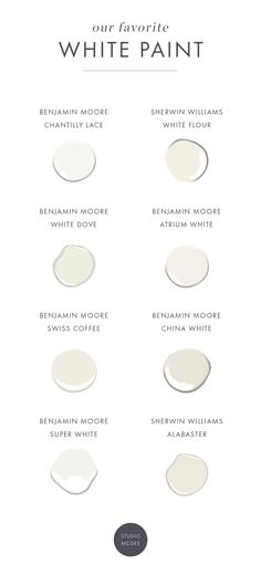 Our White Paint Favorites (Again!) — STUDIO MCGEE