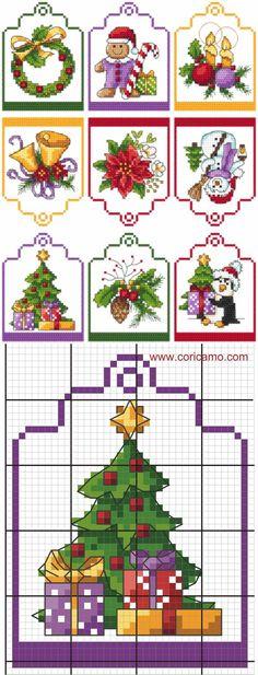 Stickvorlagen Kreuzstich - Weihnachten kostenlos-dekoking ...