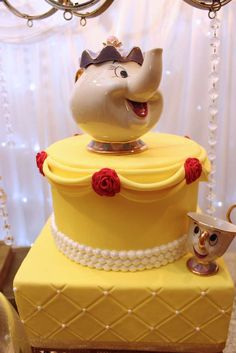 Belle / Beauty and the Beast Birthday Party Ideas | Photo 32 of 42