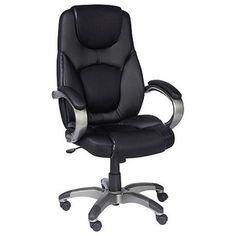 Task Chair: Z Line Executive Chair - Black