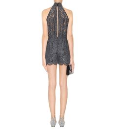 mytheresa.com - Jemmie lace playsuit - Luxury Fashion for Women / Designer clothing, shoes, bags