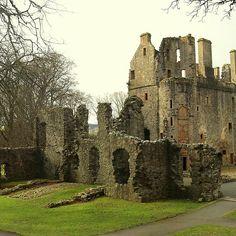 Huntly Castle In Scotland by Anita Hiltz Castles In Ireland, Scotland Castles, Scottish Castles, Scotland Tours, Edinburgh Scotland, Scotland Travel, England Ireland, England And Scotland, Castle Ruins