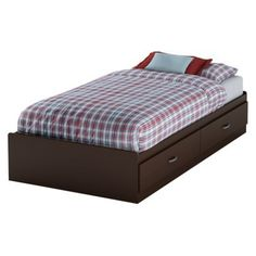 Logik Mates Bed - Chocolate (Twin).Opens in a new window