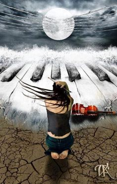 music art, piano
