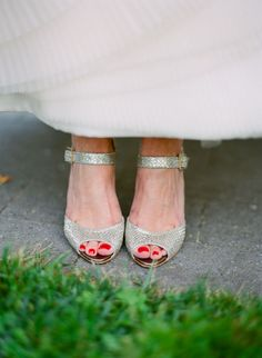 I want really great shoes on my wedding day, like these Jimmy Choos!