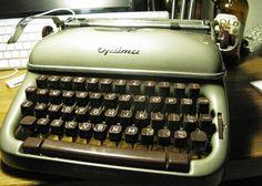 Typewriter Heaven: Late arrival