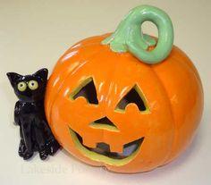 Image result for hand. built pottery pumpkins