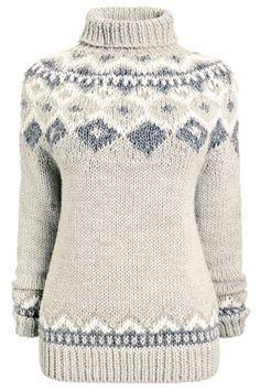 Buy Fairisle Pattern Handknit Sweater from the Next UK online shop