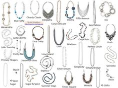 Every piece has unique patent pending hook clasps on both ends allowing you to change the length and make it fit how and where you want it.  (ie, belt, long necklace, medium layered necklace, choker, bracelet, anklet, hair band, boot bling, lanyard, glasses chain, purse strap... however you want it!!!)  http://carolyn.mialisia.com/