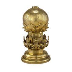 STAR GATES: Gilded bronze 3-Dimensional mechanical mandala, Tibetan. British Museum, London.