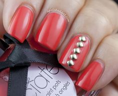 Ciate Swatches & Simple Nail Art | A Polish Addict