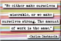 Carlos Castaneda Quote Magnet or Pocket Mirror (no.153)