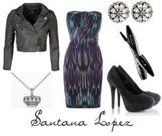 Santana Lopez- Glee